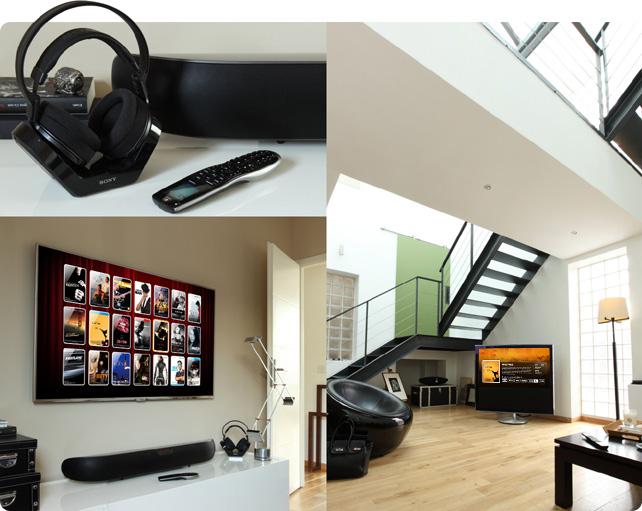 Installation et intégration Home Cinema HD LAND